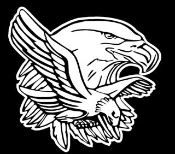 Eagle Design Decal Sticker