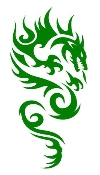Dragon v44 Decal Sticker