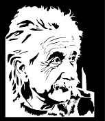 Albert Eienstien Decal Sticker