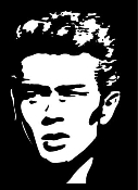 James Dean v2 Decal Sticker