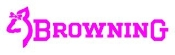 Browning Girl Logo v2 Decal Sticker