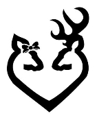 Browning Heart v5 Decal Sticker