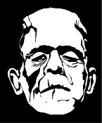 Frankenstein Monster Decal Sticker