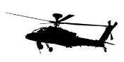 Helicopter 12 Decal Sticker