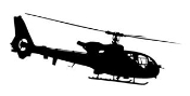 Helicopter 14 Decal Sticker