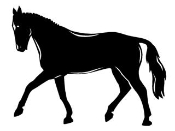 Horse v8 Decal Sticker