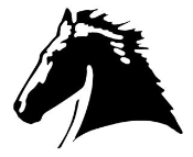 Horse Head v8 Decal Sticker