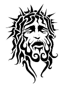 Jesus v3 Decal Sticker