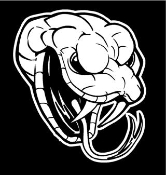 Snake Head 2 Decal Sticker