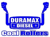 Duramax Coal Rollers 1 Decal Sticker