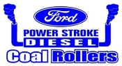 Power Stroke Coal Rollers v1 Decal Sticker