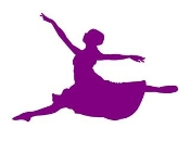 Ballet Dancer Silhouette v2 Decal Sticker