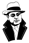 Al Capone v2 Decal Sticker