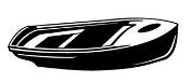 Rowboat Decal Sticker