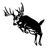 Deer 7 Decal Sticker