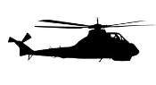 Helicopter 19 Decal Sticker