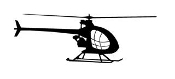 Helicopter 20 Decal Sticker