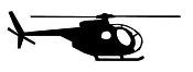 Helicopter 22 Decal Sticker