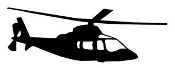 Helicopter 23 Decal Sticker
