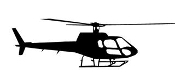Helicopter 24 Decal Sticker