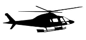Helicopter 27 Decal Sticker