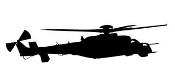 Helicopter 29 Decal Sticker
