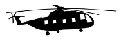 Helicopter 31 Decal Sticker