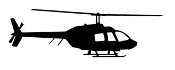 Helicopter 33 Decal Sticker