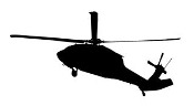 Helicopter 34 Decal Sticker