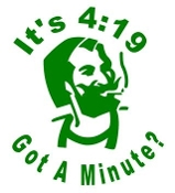 It's 4:19 Got A Minute Decal Sticker