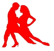 Latin Dancers v3 Decal Sticker