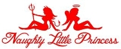 Naughty Little Princess Decal Sticker