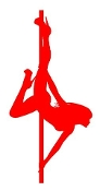 Pole Dancer 4 Decal Sticker