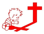 Calvin Praying Decal Sticker