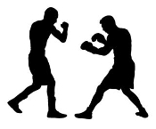 Boxing Silhouette 1 Decal Sticker