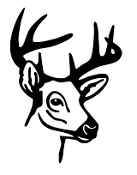 Deer Head 9 Decal Sticker