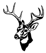 Deer Head 12 Decal Sticker