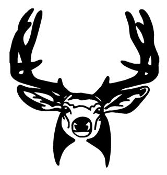 Deer Head 13 Decal Sticker
