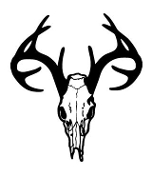 Deer Skull 4 Decal Sticker