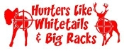 Hunters Like Whitetails and Big Racks v2 Decal Sticker