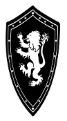 Medieval Shield Decal Sticker