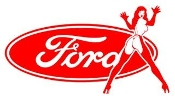 Ford Girl v9 Decal Sticker