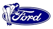 Ford Girl v10 Decal Sticker