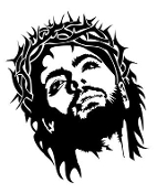 Jesus v8 Decal Sticker