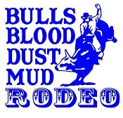 Bulls Blood Dust Mud Rodeo Decal Sticker