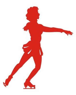 Figure Skater 7 Decal Sticker