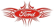 Ford Tribal v3 Decal Sticker