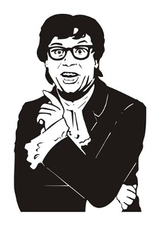 austin powers coloring pages - photo#26