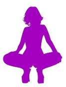 Girl Posing Silhouette 12 Decal Sticker