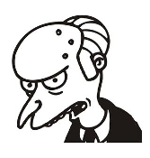 Mr Burns Decal Sticker